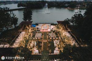 Địa điểm tổ chức tiệc cưới ngoài trời đẹp ở Hà Nội