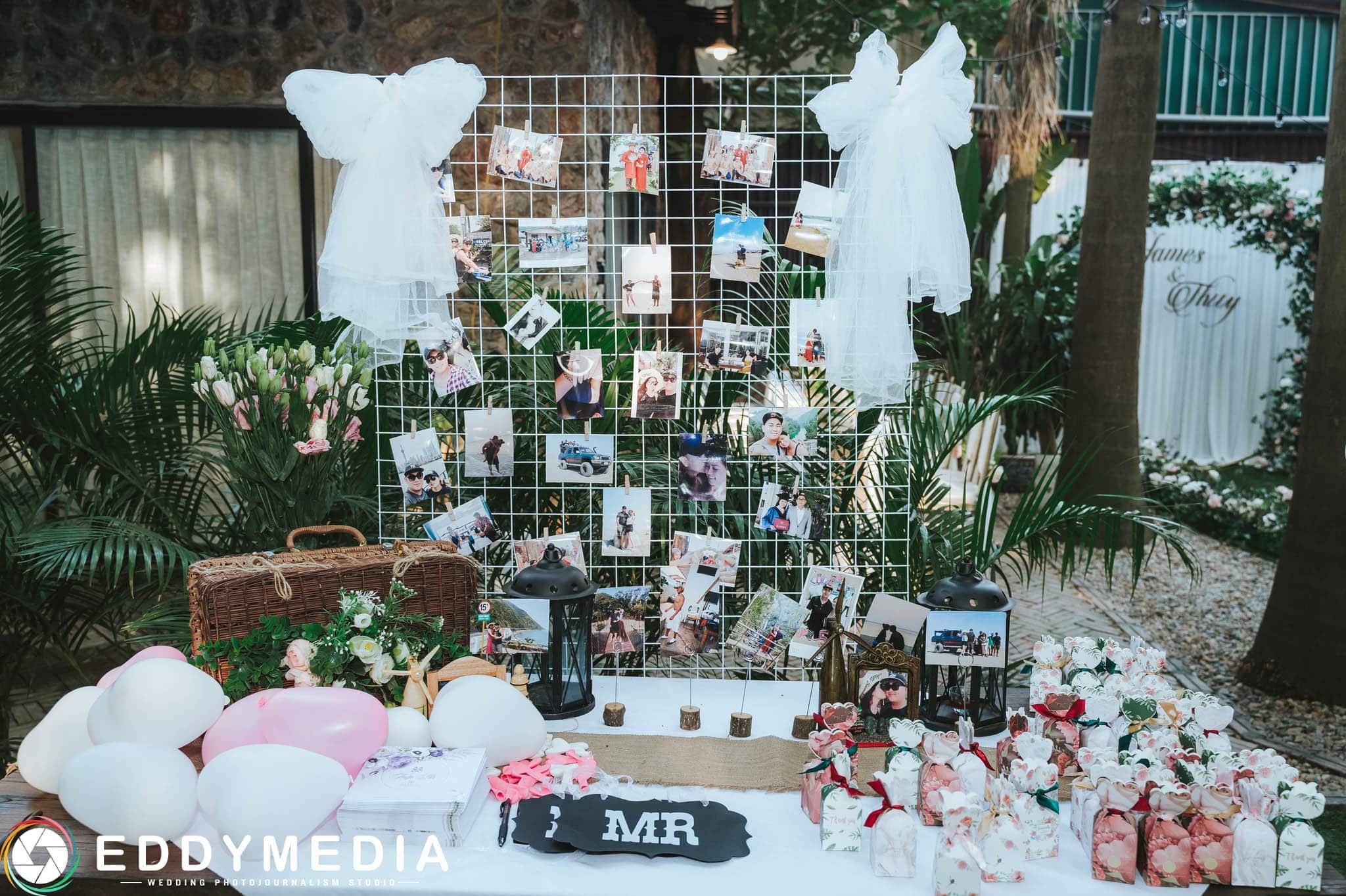 Phongsucuoi James KieuThuy EddyMedia 12 tiệc cưới ngoài trời