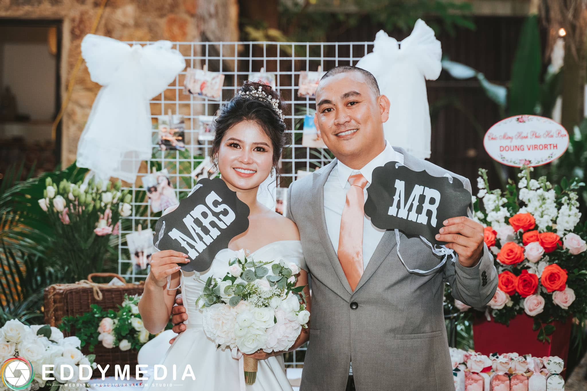 Phongsucuoi James KieuThuy EddyMedia 46 tiệc cưới ngoài trời