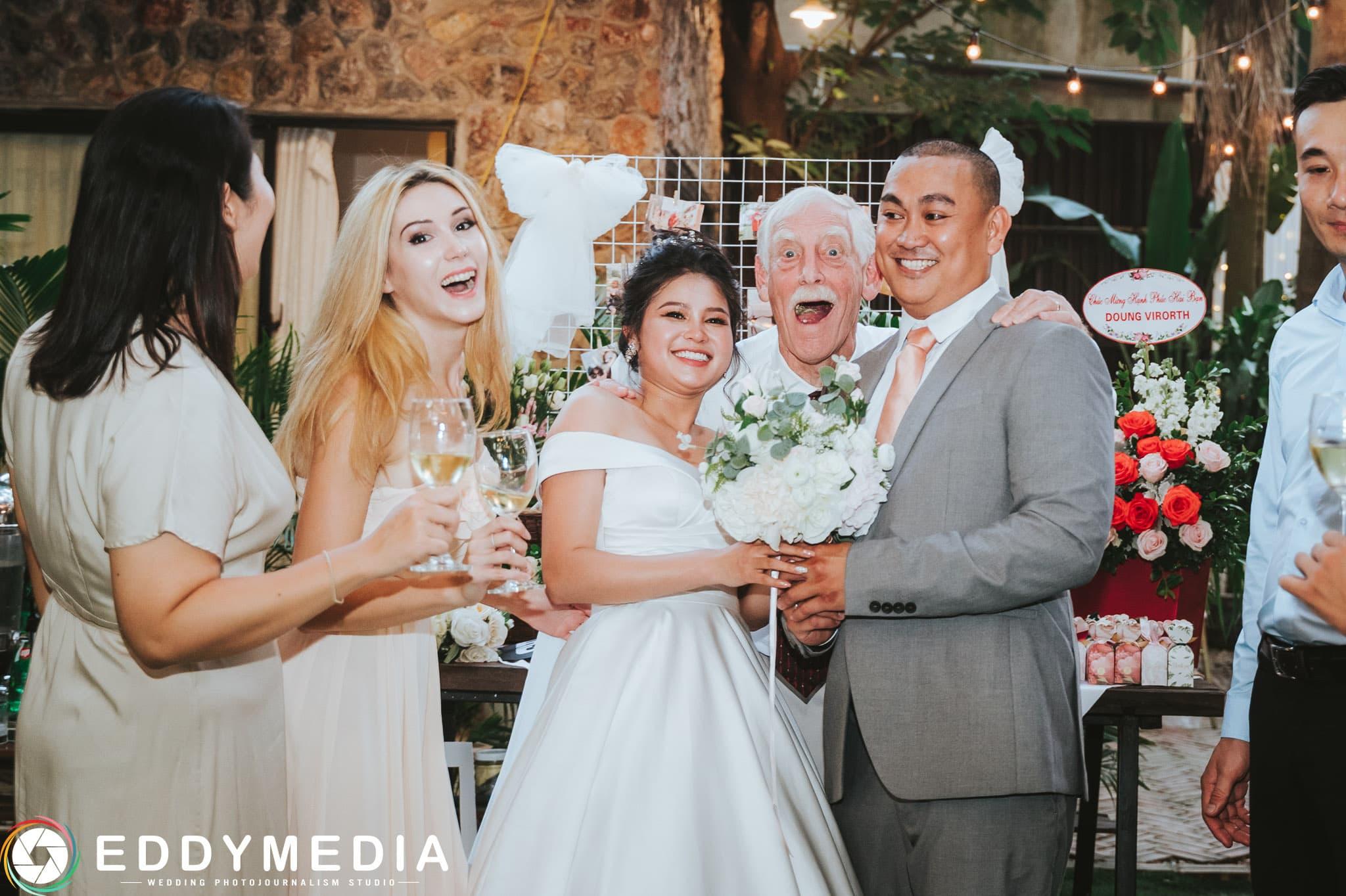 Phongsucuoi James KieuThuy EddyMedia 47 tiệc cưới ngoài trời