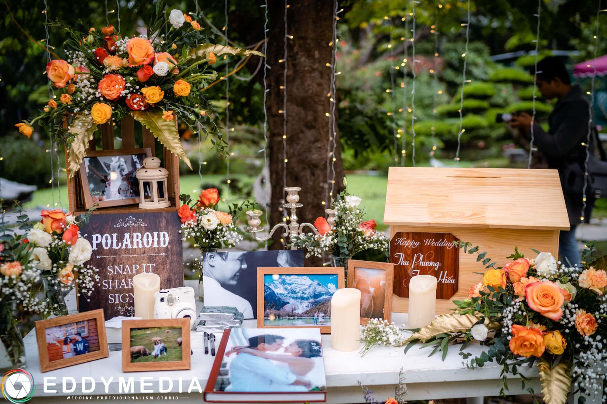 Phongsucuoi TrungHieu ThuPhuong EddyMedia 62 tiệc cưới ngoài trời